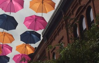 So, What About Downtown Wausau's Colorful Umbrellas?