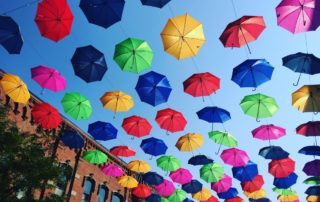 Return of the Umbrellas,  Irish fest & Animine Afternoons!