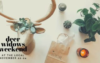 Fall Ball 2019, Deer Widows Weekend, Empty Bowls and so much more…